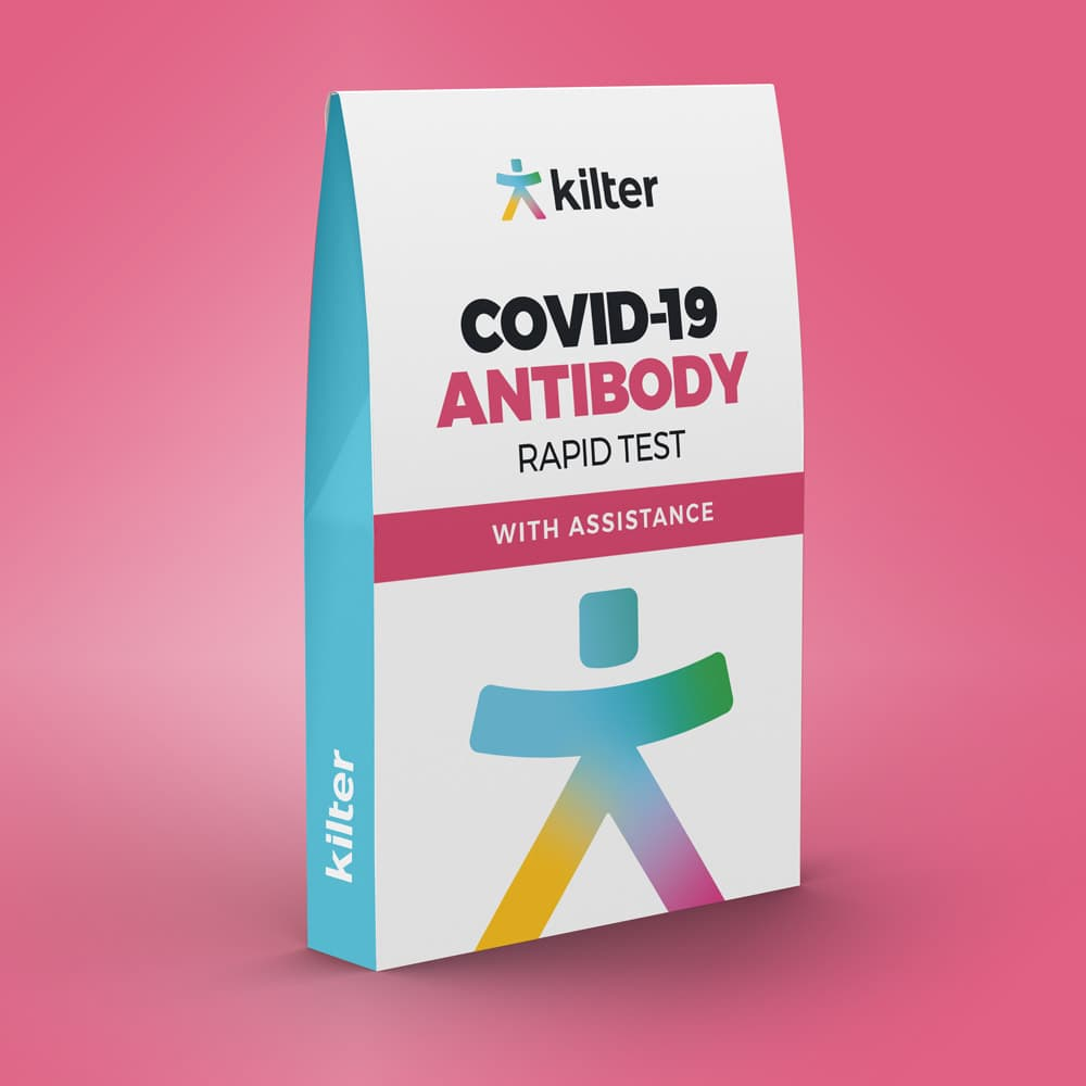 Rapid covid-19 antibody finger test home use